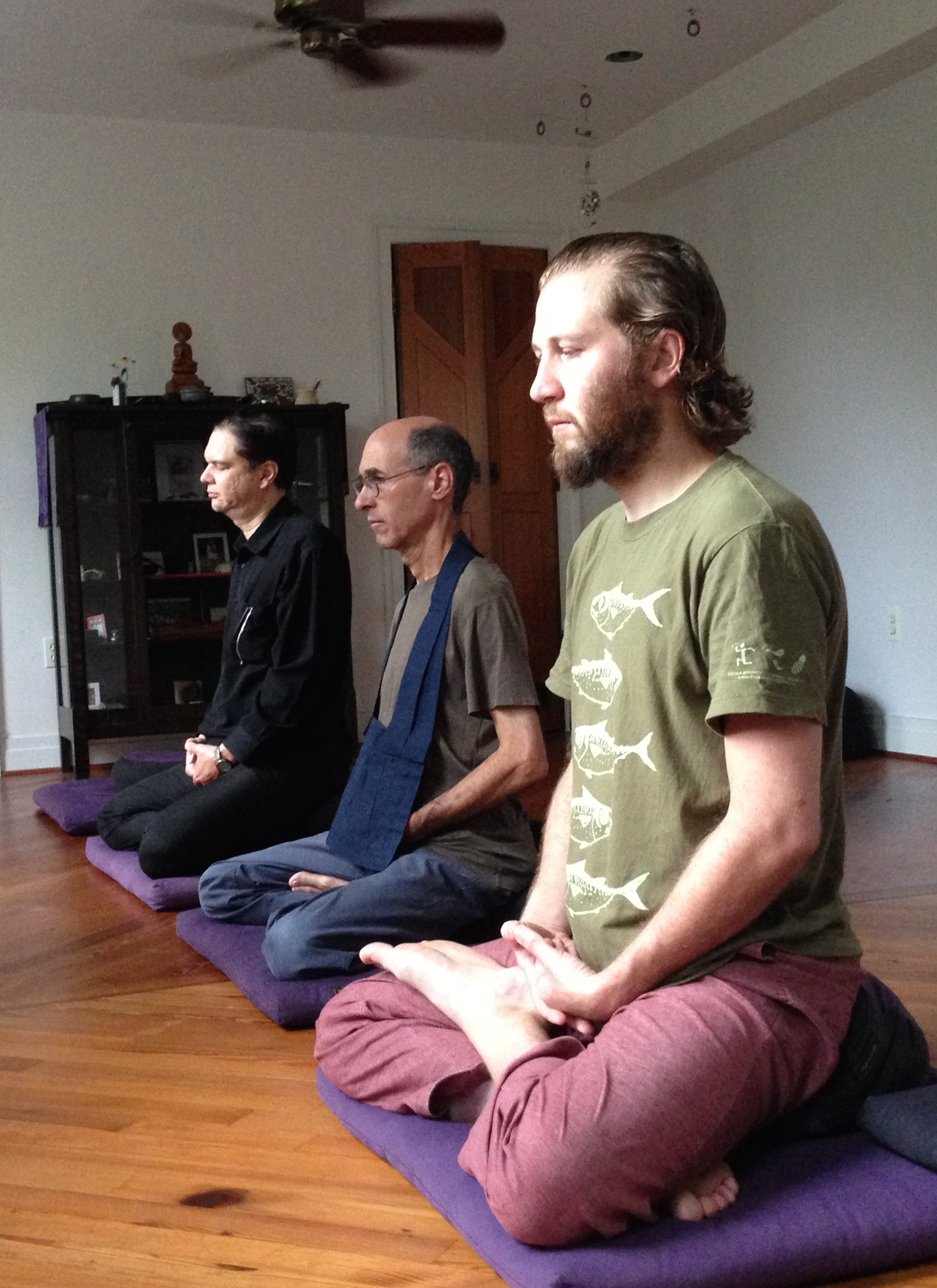 Morning Zazen Practice